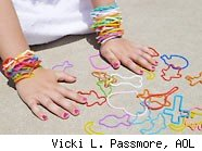 One of the biggest fads for kids was the explosion of Silly Bandz bracelets.
