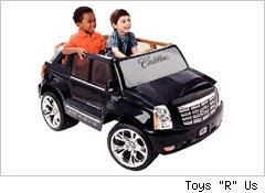 Power Wheels Black Hybrid Escalade