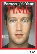Mark Zuckerberg, Time magazine Person of the Year