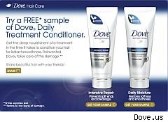 Friday freebies Dove