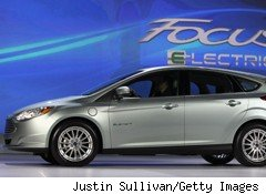 New Electric and Hybrid Vehicles from Ford, Toyota Debut in Detroit
