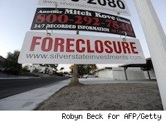 A foreclosure sign - foreclosure buyers