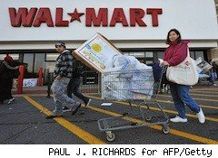 people shop at walmart - walmart dollar store