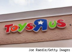 Toys R Us store sign
