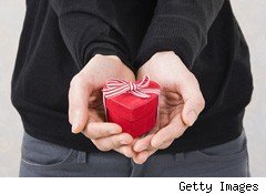 Valentine's Day is bound to fill plenty of people with dread this year as the economy makes gift-giving more challenging.
