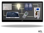 Home automation is a connection between appliances, phones, lights and electronics in your home