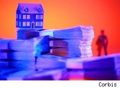 photo illustration - home supported by cash - homeowners insurance