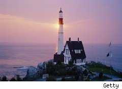 Maine lighthouse - free credit report