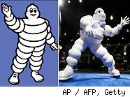 Michelin Man mascot