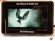 Mobile 3D tv