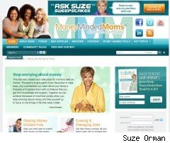 MoneyMindedMoms.com Suze Orman and kids