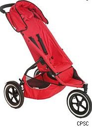 phil ted stroller recall
