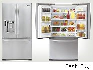 The best selling LG French Door 27.6 Cu. Ft. French Door Refrigerator