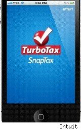 Turbo Tax SnapTax app