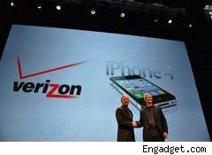 Verizon iPhone announcement