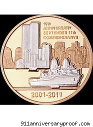 911 tribute coin 9/11