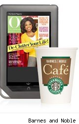 Free Starbucks Coffee when you check out the new, color Nook