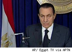 President Hosni Mubarak may be hated at home, but the international community has hailed as an economic reformer before now.