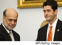 Ben Bernanke and Paul Ryan
