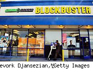 Blockbuster store