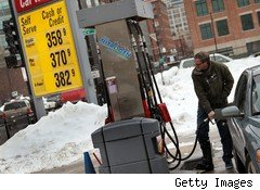 U.S. gasoline pump prices