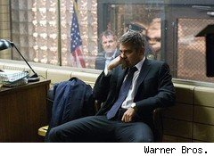 George Clooney as attorney Michael Clayton