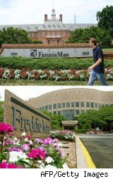 Fannie Mae and Freddie Mac mortgage offices