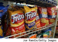 Frito-Lay now includes fewer chips in each bag.