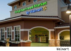 Small Walmart store called a Neighborhood Market
