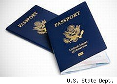 U.S. passport, for which you need to fill out a passport application