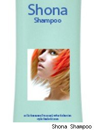 Shona Shampoo bottle