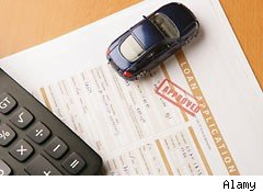 Auto loan application