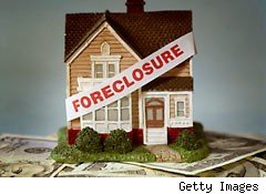 Foreclousure rates and mortgages