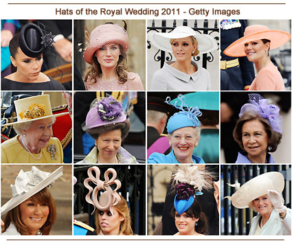 Hats of the Royal Wedding 2011