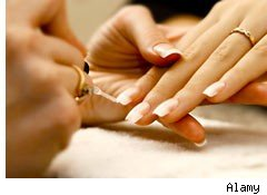 Nails manicure savings