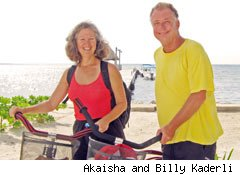 Akaisha and Billy Kaderli