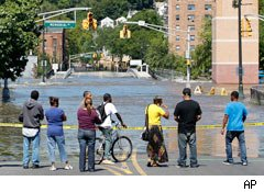 Hurricane Irene flooding in New Jersey