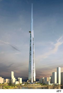Proposed world's tallest building