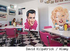 American diners shake up eastern Europe