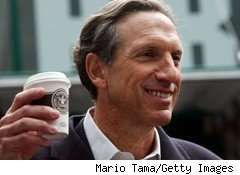 Starbucks (SBUX) CEO Howard Schultz Town Hall