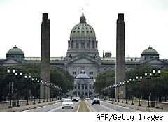 Harrisburg files for bankruptcy