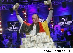 Poker Champ Pius Heinz Pays No Taxes on $8.7 Million