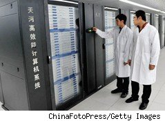 China's New Supercomputer Means Business