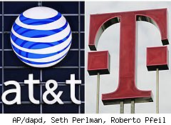 AT&T agrees to drop bid for T-Mobile
