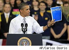 Obama decries rising cost of college education
