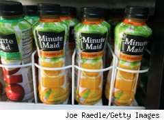 Coke's New Orange Juice Flavor: Fungicide?