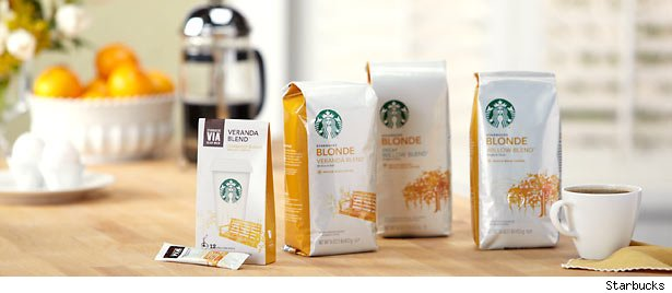 Starbucks blonde
