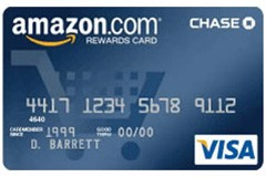 Amazon Rewards Visa Credit Card Chase