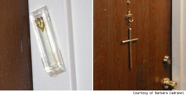 Mezuzah discrimination