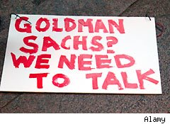 Goldman Sachs soundoff